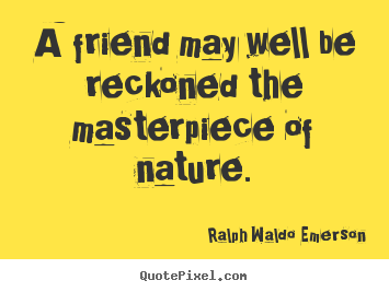 emerson quotes nature essay