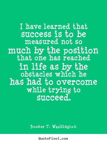 obstacles i have overcome essay